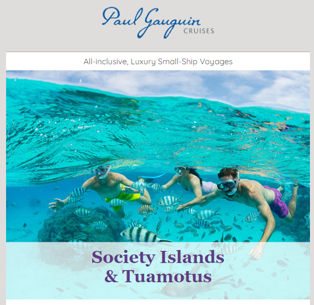 Paul Gauguin Cruise Package